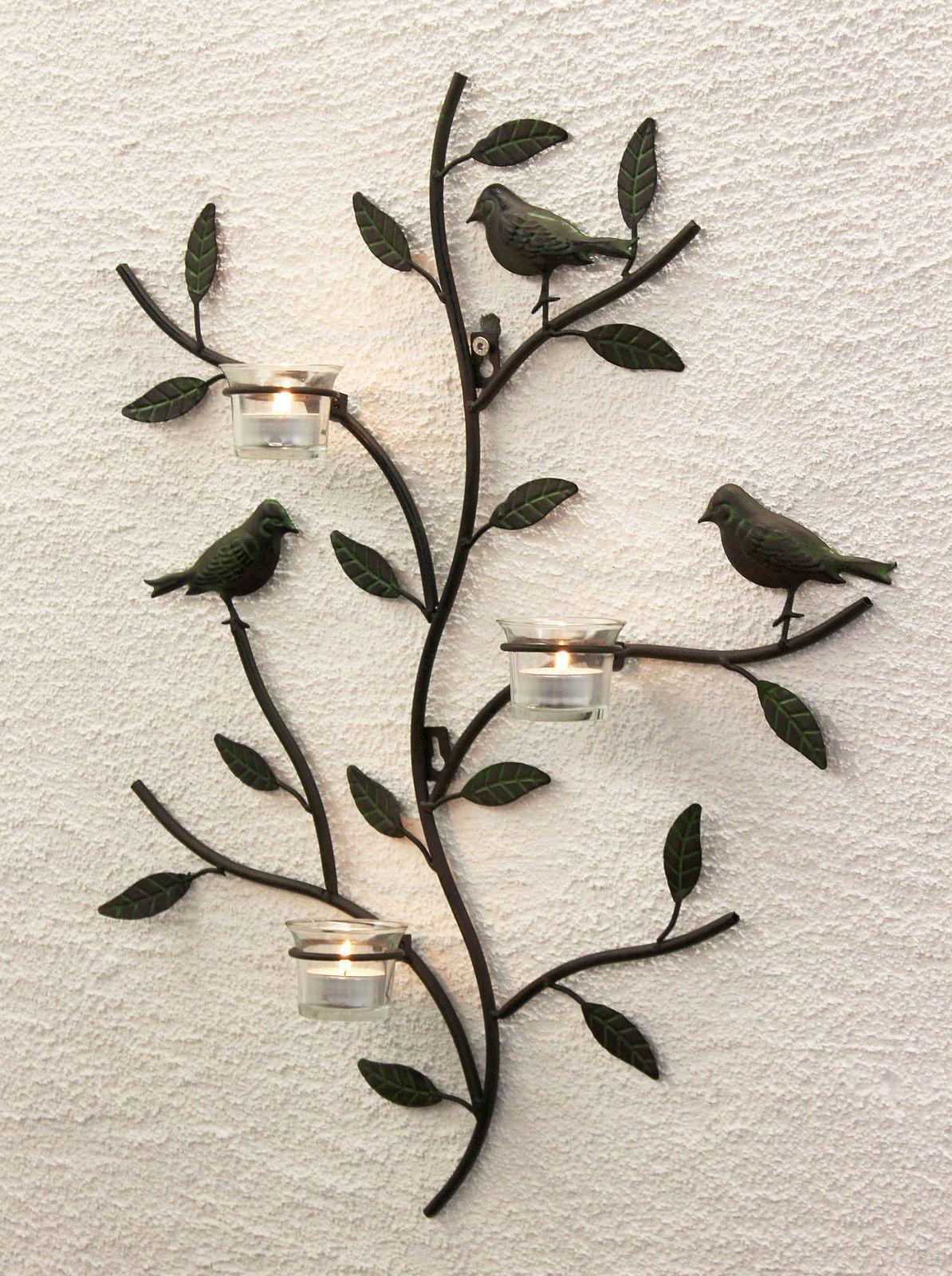 Wandteelichthalter 131002 Teelichthalter Metall 57 cm ...