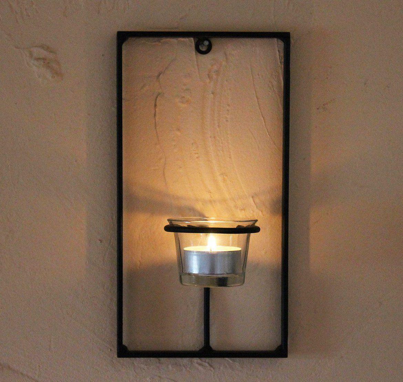wandteelichthalter carr 3 tlg wandkerzenhalter metall teelichthalter teelicht ebay. Black Bedroom Furniture Sets. Home Design Ideas