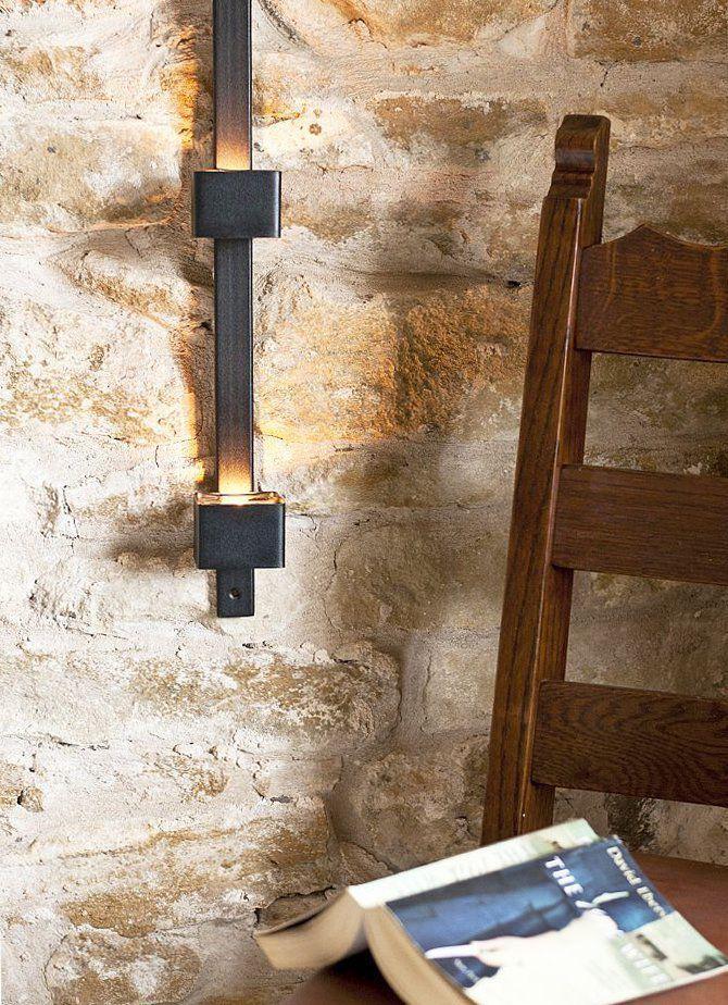 Wandteelichthalter Four Wandkerzenhalter Metall 92 cm ...