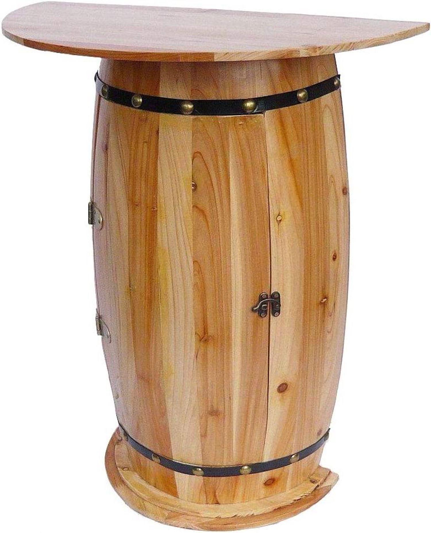 wandtisch tisch weinfass 0373 schrank weinregal fass aus. Black Bedroom Furniture Sets. Home Design Ideas