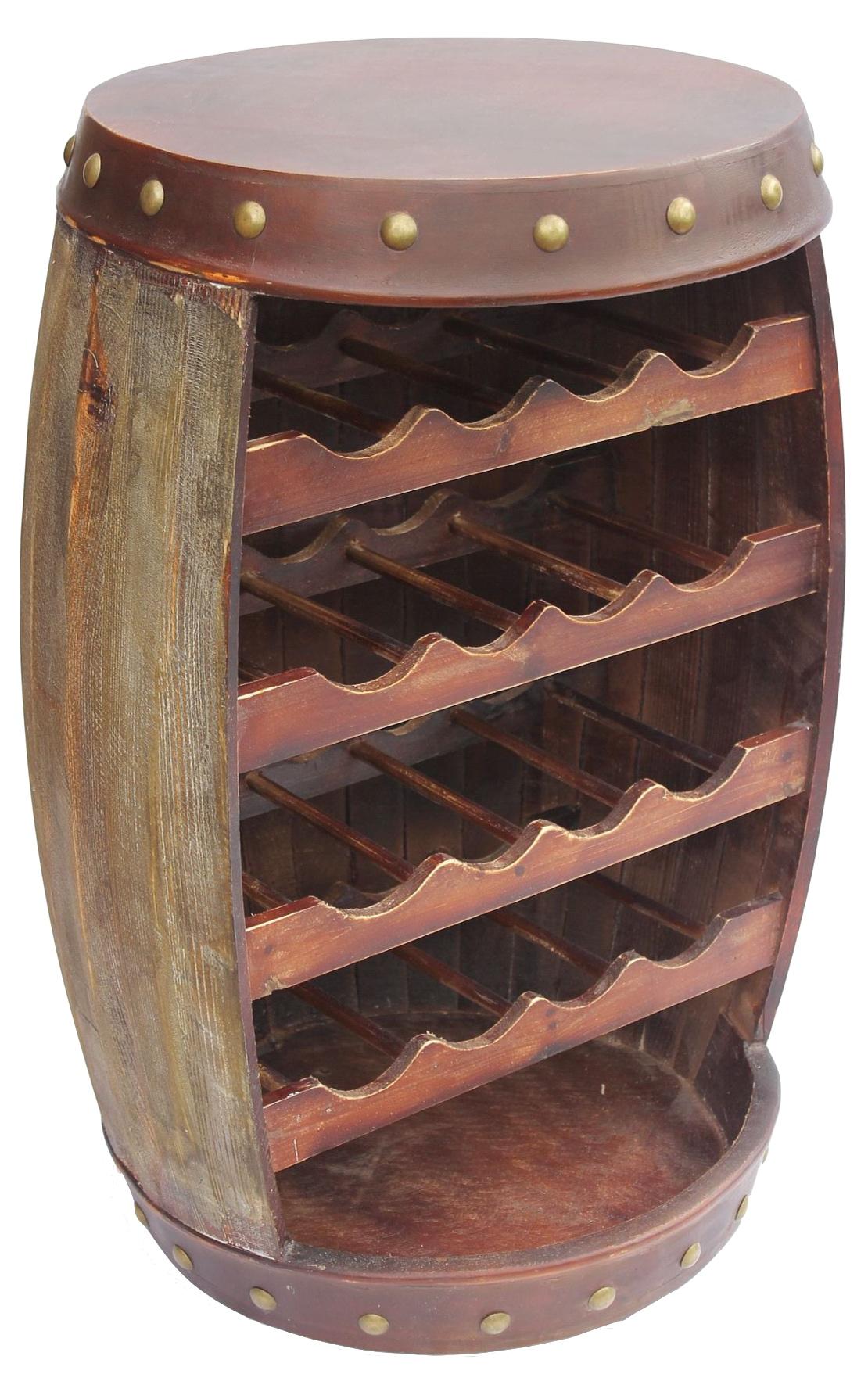 weinregal weinfass 1546 fass aus holz 70cm flaschenst nder. Black Bedroom Furniture Sets. Home Design Ideas